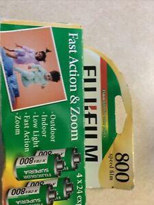Fujifilm Superia X-TRA 800 35mm 4x24 exp- 4Rolls