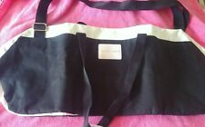 Victoria Secret Duffle Bag Tote Black White Pink
