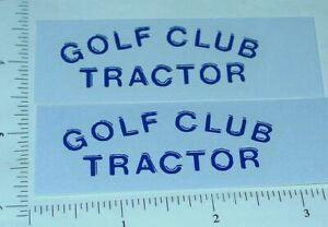 Tonka Golf Club Tractor Sticker Set                TK-018