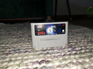 Another World Super Nintendo SNES Cartridge PAL