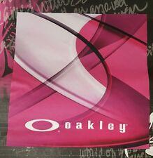 Oakley Large Microfiber Cleaning Cloth (Romeo 2 Juliet Display Bob C Six Medusa)