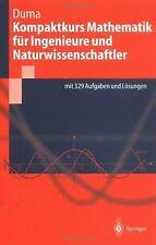 Kompaktkurs Mathematik f??r Ingenieure und Naturwis... | Buch | Zustand sehr gut