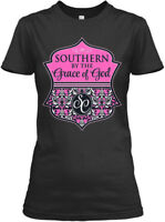 Southern By The Grace Of God - Gildan Women's Tee T-Shirt