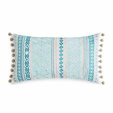 """Sky 14"""" x 26"""" Decorative Pillow Camila Embroidered E92359"""