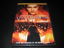 V For Vendetta (DVD, 2006, Widescreen)