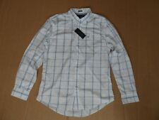 Men's Tommy Hilfiger Cotton Checked Shirt Size Large L NEW