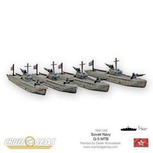 SOVIET G-5 MTB'S - CRUEL SEAS - WARLORD GAMES