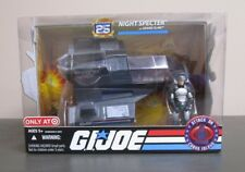 Night Specter w Grand Slam G.I. JOE COBRA 25th Anniversary MIB