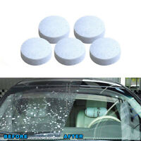 5/20Pcs Car Auto Windshield Effervescent Spray Super Cleaner Tablets Detergent