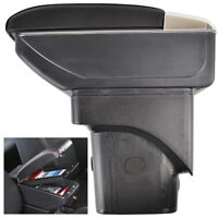Fit For Ford Focus 2 MK2 2005-2010 Centre Console Storage Box Armrest Arm Rest