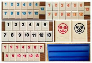 RUMMIKUB RUMMI-KUB RUMMY O Game Replacement Sets OF 13 Tiles Rack Jokers