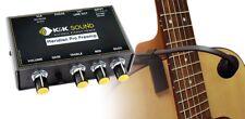 K&K Sound Meridian PRO Mic Clamp-on Guitar Condenser Microphone w/Preamp/EQ, XLR