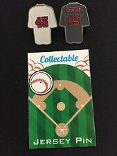 Boston Red Sox Pedro Martinez lapel pin set-(2)-Collectable RED SOX NATION Gift