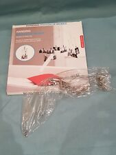 Kikkerland Hanging Photoclip Mobile-Holds 20 Various Size Photos-Silver-BNIB