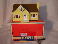 Lionel 6-82008 Yellow Bungalow House O 027 MIB New 2014 Lighted Plug-N-Play