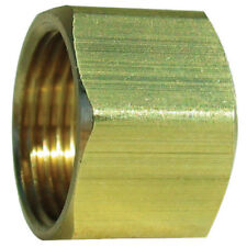 """200 Brass Compression Fitting Replacement Standard Nut, Tube O.D. 1/4"""" Qty. 200"""