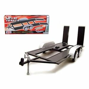 MotorMax Metal Trailer Replica w/Authentic Details for Diecast Collections 1:24