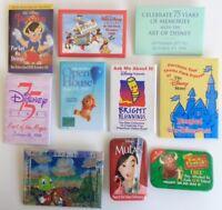 10 Disney Pins Pinocchio Mulan The Disney Store Timon & Pumbaa Celebrate 75 Year