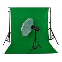 Fondo Verde Fotográfico Plegable Telón de Fondo de 100% Estudio Foto, Vídeo y TV