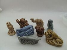 Red Rose Tea Wade Figurines - lot of 8 assorted