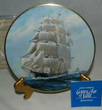 "Mib 1981 Golden Age of Sail ""Flying Cloud"" #6 by Charles Lundgren Plate"