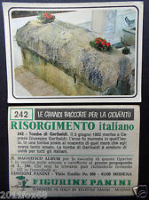 figurines cromos picture cards figurine risorgimento italiano 242 panini 1975 br