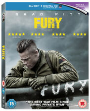 Fury Blu-Ray (2015) Brad Pitt