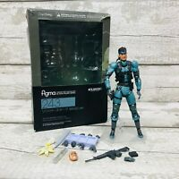 Max Factory Figma No.243 Metal Gear Solid Snake Action Figure Boxed with Parts