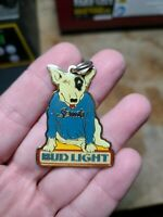 BUD LIGHT SPUDS MACKENZIE BEACH PARTY METAL KEYCHAIN