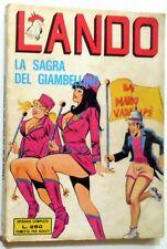 FUMETTO EROTICO GEIS LANDO ANNO II N.34 1974