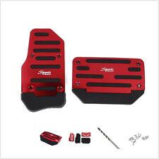 Non-slip 2x Car Automatic Accelerator Brake Foot Pedal Cover Treadle Belt drill