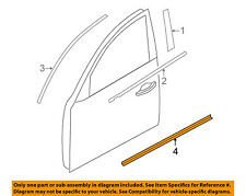 Infiniti NISSAN OEM 09-11 FX35 FRONT DOOR-Body Side Molding Right 808701CB0A