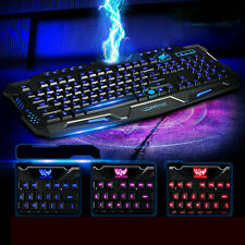 Pink DADUIZHANG Profession Game Mechanical Keyboard Gaming Keyboard Backlit R Ergonomic Wired/ / / with Backlight for Pc Laptop