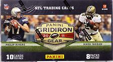 2011 PANINI GRIDIRON GEAR FOOTBALL CARDS BLASTER BOX