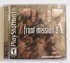 Front Mission 3 PS1 PlayStation - New/Sealed - Ships Worldwide