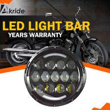 "7"" Headlight LED Turn Signal For Yamaha V-Star XVS 650 950 1100 Custom Silverado"