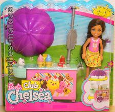 Barbie Chelsea Puppe mit Eiswagen Spielset FDB33 NEU/OVP Puppe