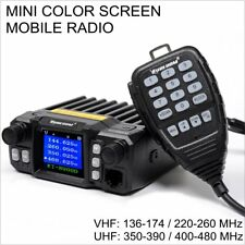SURECOM KT-8900D 136-174/220-260/350-390/400-480 MINI COLOR SCREEN MOBILE RADIO