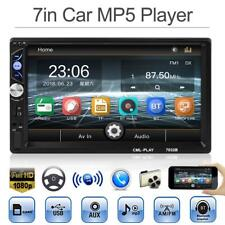 2Din 7'' Touch Screen Bluetooth Car Stereo MP5 Player FM Radio w/ Remote Control