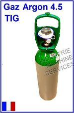 BOUTEILLE DE GAZ LINDE ARGON 4.5 POSTE A SOUDER SOUDAGE TIG