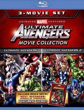 Ultimate Avengers 3 Movie Collection (Blu-ray Disc, 2015, 2-Disc Set) Brand New