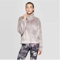 Women's Luxe Fleece Full Zip Track Jacket - C9 Champion - Gray - M - C15