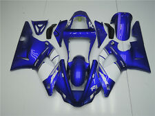 Plastic ABS Blue Injection Fairing  Fit for Yamaha 2000 2001 YZF-R1 Bodywork n24
