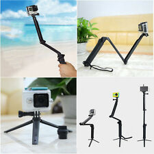 3-Way Handheld Mount Monopod Tripod Accessories for GoPro Hero 2 3 4 5 Camera