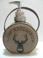 Camping Bath Canteen Soap Lotion Dispenser CAMP NEED A BATH Fun for Campers