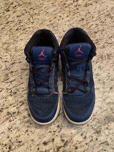 Nike Air Jordan Flight Origin 2 Youth Boys Size 7Y Shoes 705160 420 Blue/Black