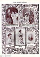 K.k.Monarchie * Ausländ.Mitglieder der Familie des Kaiserhauses * 1908 * Nr.4