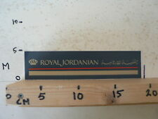 STICKER,DECAL ROYAL JORDANIAN AIRLINES ?