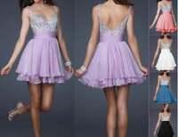 abito cerimonia da donna vestito damigella evening dress vestido noche festa w2