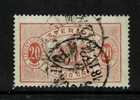 Sweden SC# O8a, Used, pulled bottom corner perf - S1241